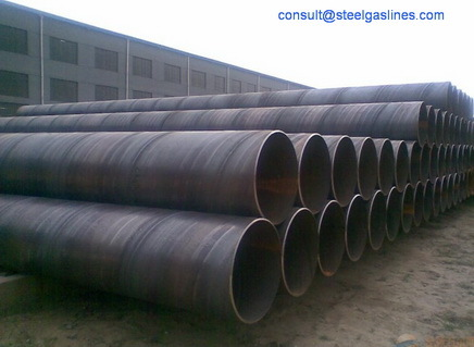 Ssaw Spiral Submerged Arc Welded
