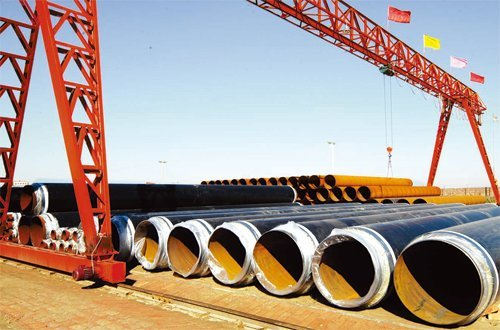 Ssaw Steel Pipe Piling