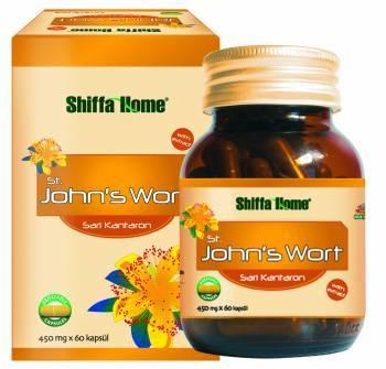 St John S Wort Natural Herbal Capsule Anti Stress 420 Mg