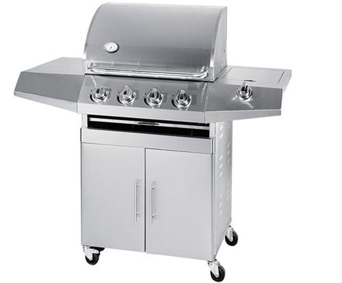 Stainless Steel 1side Burner Gas Grill Bbq 4burner