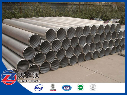 Stainless Steel 304l Johnson V Wire Screens To Algeria