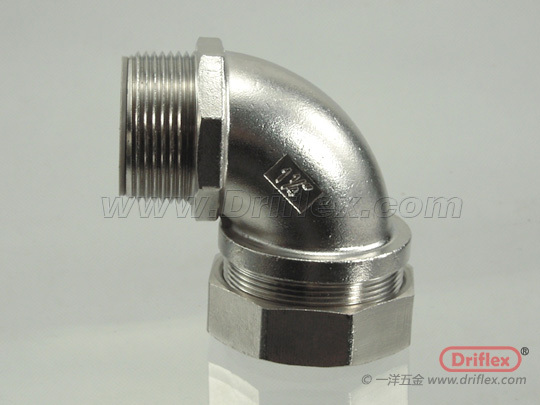 Stainless Steel 90d Connector With High Quality