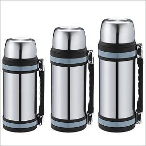Stainless Steel Double Walls Vacuum Thermos Wide Mouth Flask