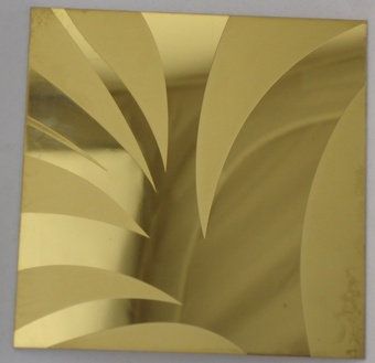 Stainless Steel Etched Sheet Yk Se 009