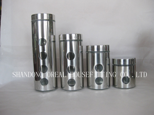 Stainless Steel Glass Jars