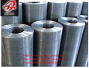 Stainless Steel Grade 304 316 Welded Wire Mesh Rolling