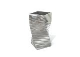 Stainless Steel Indoor Litter Bin
