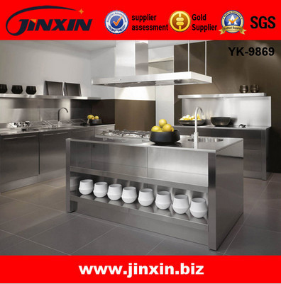 Stainless Steel Metal Kitchen Cabinet
