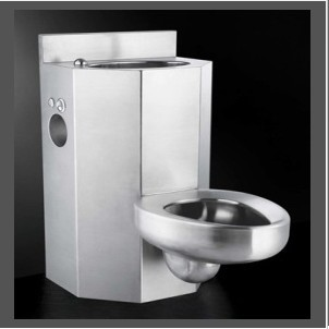 Stainless Steel Toilet Jail Combination
