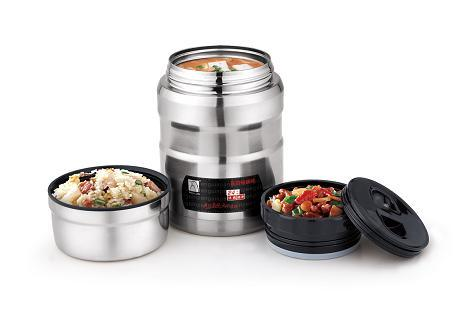 Stainless Steel Vacuum Food Jar Insulated Container Lunch Box