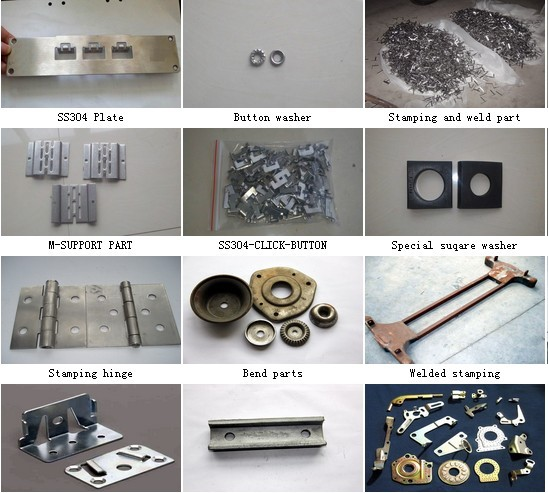 Stamping Parts And Weld Part