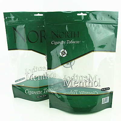 Stand Up Pouch With Clear Window