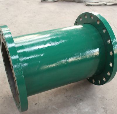 Steel Lining Polyurethane Coal Mine Pipe Dual Anti