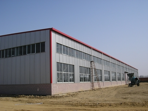 Steel Structure Prefabricated Warehouse