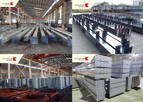 Steel Structures For Pre Fabricated Building