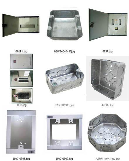 Steel Switch Box Plastic Distribution