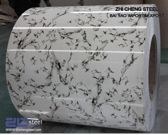 Stone Pattern Ppgi Prepainted Steel Sheets