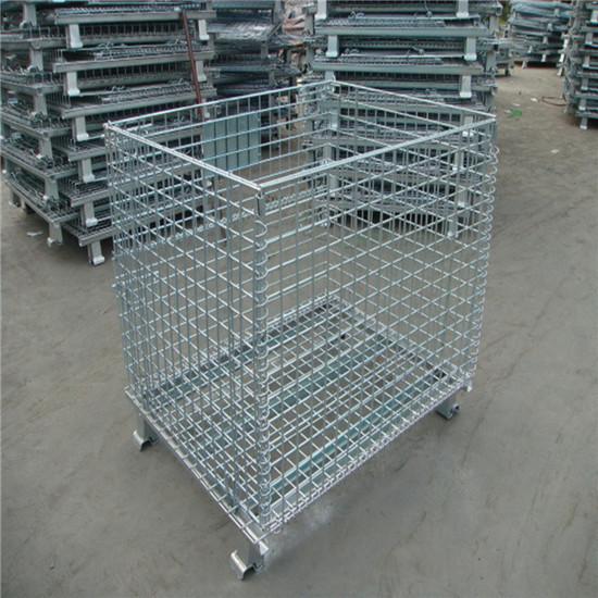 Storage Fold Wire Mesh Cage