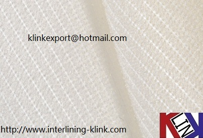 Stretch Elastic Polyester Fusible Interlining