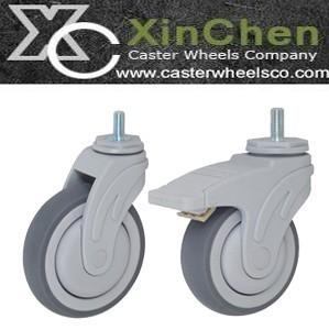Stretcher Caster Wheels Medical Trolley
