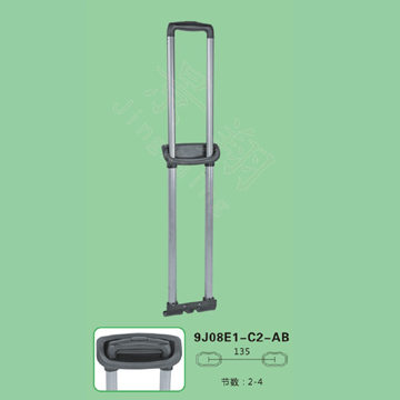 Suitcase Handle Parts Extendable Trolley