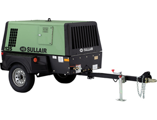 Sullair 125 Air Compressor