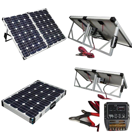 Sun Gold Power 120w Portable Mono Solar Panel Folding Module Kit