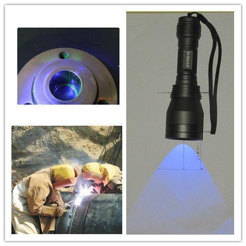 Super Bright 365nm Uv Led Torch For Non Destructive Testing Ndt Equipment