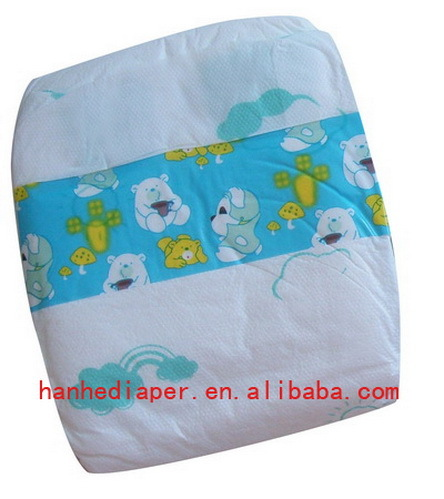 Super Soft Baby Diapers With Good Quality