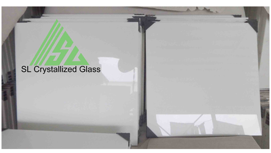 Super Thassos Glass Crystallized 12x12