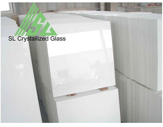 Super Thassos Glass Crystallized 24x24