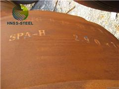 Supply A588 Grade A B C K Corten Steel Plate