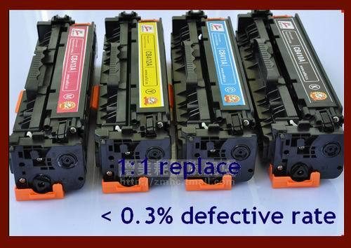 Supply Compatible New Color Cartridge Hp305a Ce410 Ce411 Ce412 Ce413 Laser