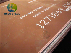 Supply Corten A B S355j0w Steel Plate