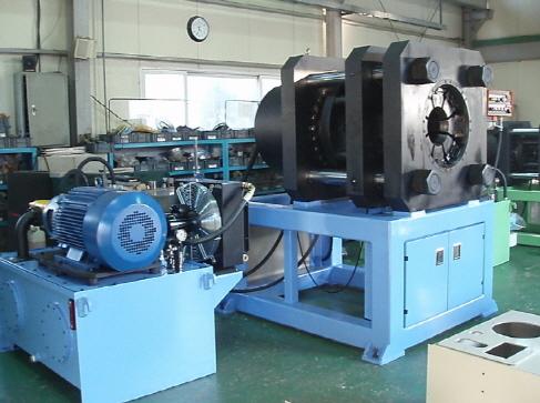 Swaging Machine Hydraulic Type