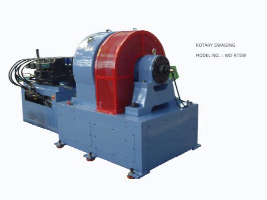 Swaging Machine Rotary Type
