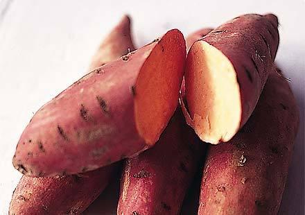 Sweet Potato White Flesh Orange
