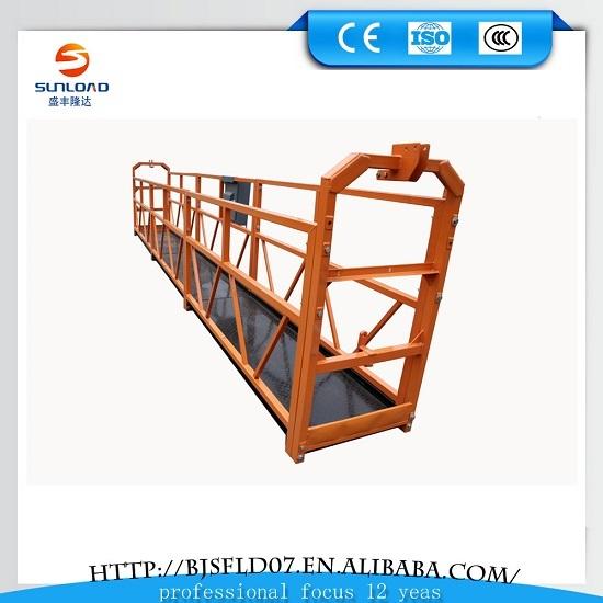 Swing Stage Gondola Suspended Platform Zlp 800 630
