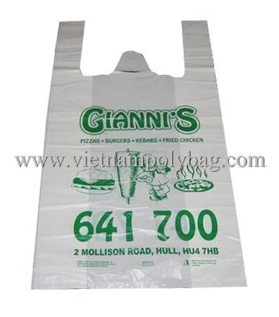 T Shirt Carrier Shopping Bag Made In Vietnam