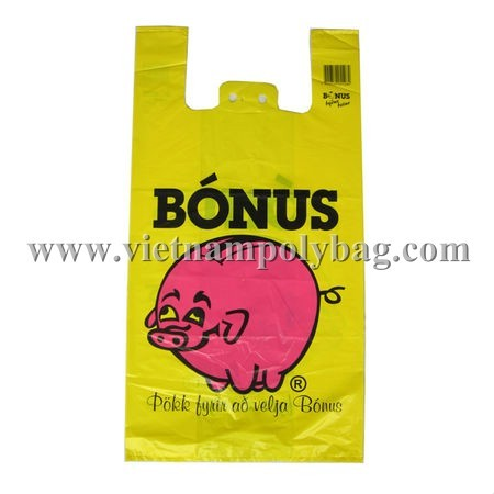 T Shirt Plastic Shopping Bag Made In Vietnam