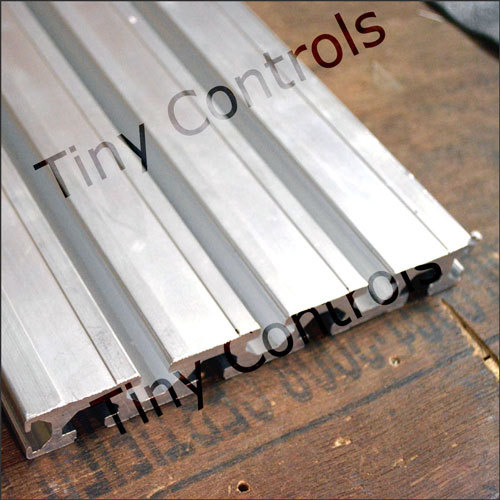 T Slot Aluminum Section Tp 6212 Length 610mm