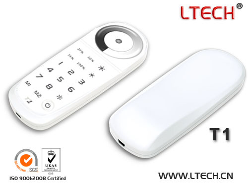 T1 Dimmer 2 4g Led Touch Controller Single Color