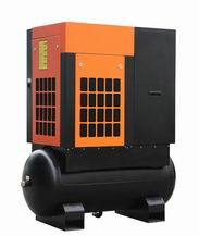 Tank Mounted Screw Air Compressor For Sale