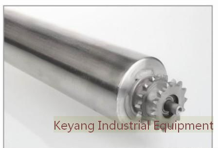 Tapered Conveyor Roller Galvanized Or Stainless Steel Tube