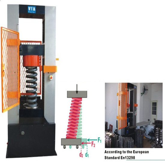 Tcd Ch 200kn 300kn Computer Control Spring Testing Machine For Heavy Duty V