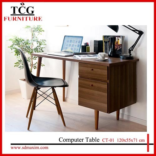 Tcg Modern Simple Wooden Computer Desk