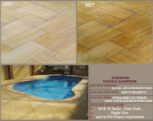 Teakwood Sandstone For Construction