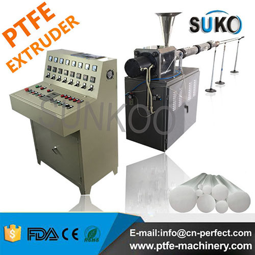 Teflon Ptfe Rod Ram Extruder Automatic Machine Pfb150 Dia 80mm 150mm