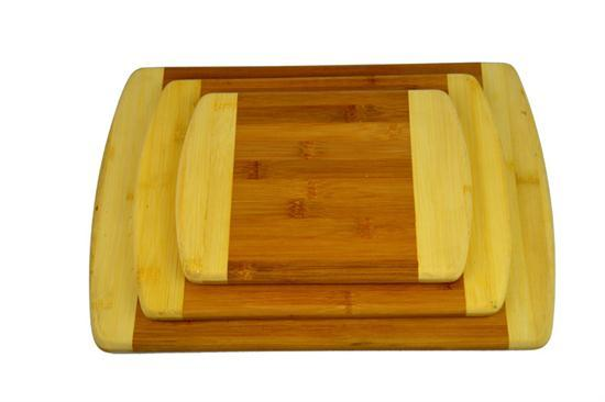 Tf001 Hot Sale Lightweigh Durable Bamboo Cutting Board Set Chopping Blocks