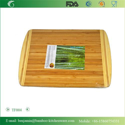 Tf004 100 Bamboo Easy Clean Handsome Cutting Board Set Chopping Blocks